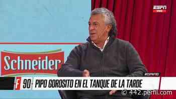 "Pipo Gorosito: ""Cuando no me eligen en San Lorenzo, me lastima"" - 442"