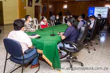 Paita: Incorporan a cuatro integrantes al Comité Provincial de Seguridad Ciudadana - El Regional
