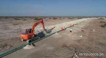 Piura: inicia tendido del gasoducto para distribuir gas natural en Paita - LaRepública.pe