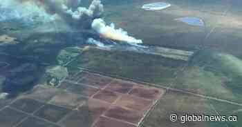 Alberta wildfire in Yellowhead County grows to 180 hectares overnight
