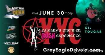 Calgary's Premier RUSH Experience with opener Gil Tougas
