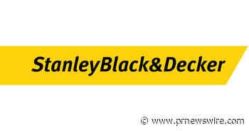 Stanley Black & Decker Announces Release Date for Second Quarter 2021 Earnings