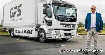 Rennes - Le premier camion électrique de 16 tonnes de Bretagne livré à Rennes - Le Télégramme