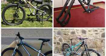 Four rare bikes worth more than £8,000 stolen from Gateshead home