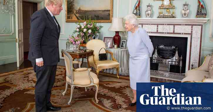 Boris Johnson has first in-person weekly audience with Queen in 15 months