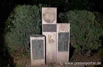 POL-PDTR: Sachbeschädigung am Otto-Decker-Denkmal in Idar-Oberstein - Presseportal.de