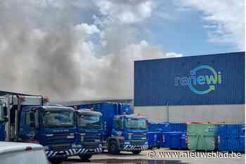 Brand bij Renewi in Houthalen na 5 uur geblust - Het Nieuwsblad