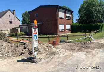"""Gemeente stelt De Watergroep in gebreke voor """"rampzalige werken"""" in Houthalen-Oost - Het Belang van Limburg"""