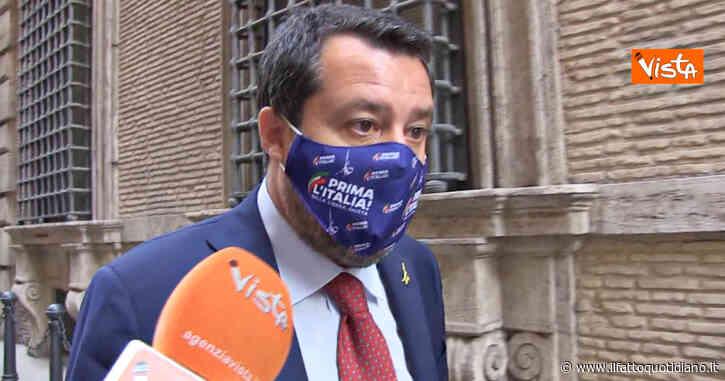 """Ddl Zan, Salvini: """"Condivido le parole di Draghi, mi stupisce il silenzio di Pd e M5s"""" – Video"""