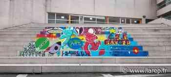 Des marches en couleurs au lycée Jacques-Monod - La République du Centre