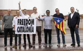 Los presos del 'procés' se reafirman en la independencia y la amnistía tras salir de la cárcel por los indultos - EL PAÍS
