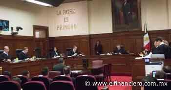 No es 'privilegio' la independencia del Poder Judicial: magistrados - El Financiero