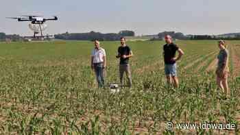 Drohneneinsatz in Moosburg - Schädlingsbekämpfung aus der Luft - idowa