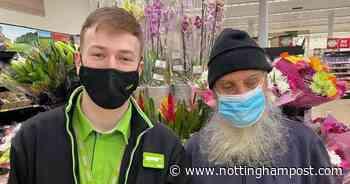 Nottingham left astounded by Asda worker's amazing help for elderly blind customer - Nottinghamshire Live