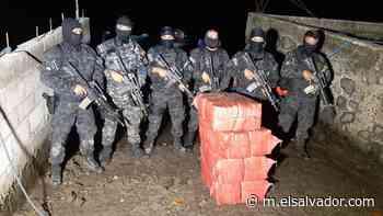 Enterrados en manglares, así fueron encontrados 200 kg de droga en Tecoluca | Noticias de El Salvador - elsalvador.com