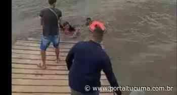 Em Parintins, casal cai de canoa e fica à deriva até ser salvo por tripulantes de uma balsa - Portal Tucumã
