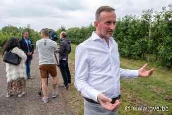 """Tuinder heeft velden op 803 meter van 3M: """"Als fruit vervuild blijkt, ben"""