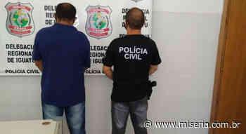 Polícia Civil prende foragido da Justiça de Juazeiro do Norte em Iguatu - Site Miséria