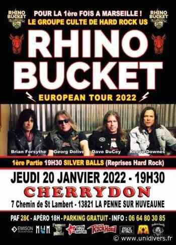 Rhino Bucket / Silver Balls Cherrydon jeudi 20 janvier 2022 - Unidivers