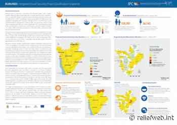 Burundi: Acute Food Insecurity Situation April - May 2021 and Projection June - Sept 2021 and Acute Malnutrition Situation September - December 2020 and Projection for January - August 2021 - Burundi - ReliefWeb