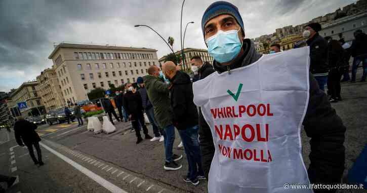 """Whirlpool conferma procedura licenziamenti a Napoli dal 1 luglio: a rischio 350 lavoratori. Sindacati: """"Dialogo costruttivo, basta minacce"""""""