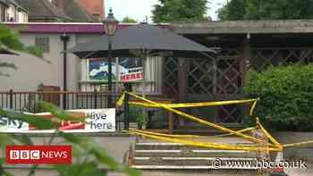 Arrest after car hits four outside Stourbridge pub