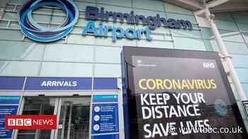Covid: Birmingham Airport 'losing millions' due to travel restrictions