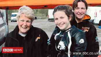 Motorbike racer hopes to emulate gran and mum's track success
