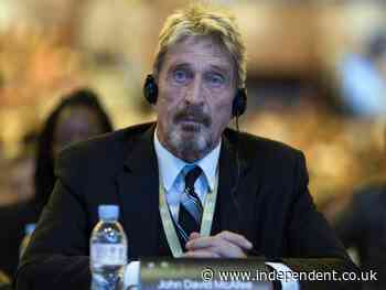 John McAfee found dead in Spanish prison, reports say