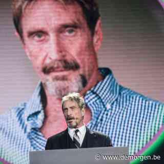 Softwarepionier McAfee dood in Spaanse cel, enkele uren na beslissing uitlevering