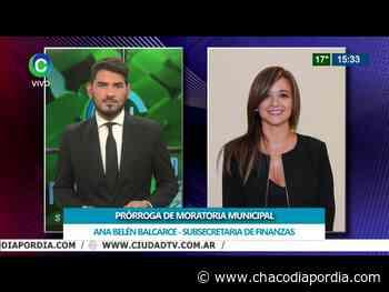 Destacan la prórroga de la Moratoria Municipal de Resistencia   CHACO DÍA POR DÍA - Chaco Dia Por Dia
