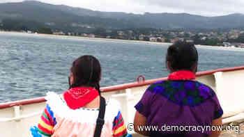 Los zapatistas llegan a España y conmemoran 500 años de resistencia indígena tras la conquista de México por parte de Cortés - Democracy Now!