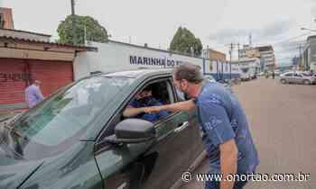Prefeitura de Porto Velho utiliza drive-thru para imunização de profissionais da educação - O Nortão Jornal