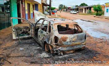 Indivíduo é espancado após matar homem em Porto Velho; carro do acusado foi incendiado ⋆ Folha de Vilhena - Folha de Vilhena
