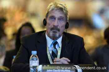 'I'll spend the rest of my life in prison': John McAfee said he feared extradition to US days before death