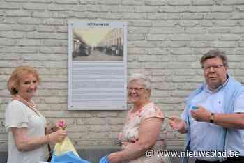 Bord op hoek Nieuwstraat roept herinneringen aan volkswijk Het Pauwelke op - Het Nieuwsblad