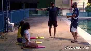 Natação faz a primeira competição do ano em Teresina de olho em índices para o Brasileiro em três categorias - globoesporte.com