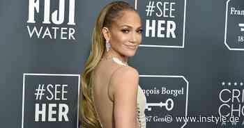 Jennifer Lopez zeigt, wie der Jeansrock jetzt zum Modetrend wird - InStyle