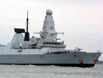 Russia news: Moscow says British warship in 'clear violation' and calls it HMS Provocateur