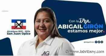 Alcaldesa arenera de San Juan Opico usa recursos municipales para hacer su campa?a electoral - La Britany