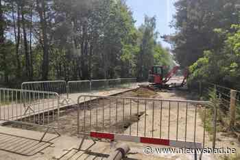 Lek aan Kesselse Heide pas volgende week hersteld - Het Nieuwsblad