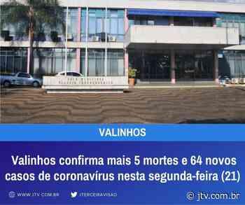 Valinhos confirma mais 5 mortes e 64 novos casos de coronavírus nesta segunda-feira (21) - Jornal Terceira Visão