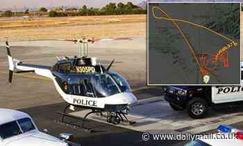Mystery drone leads Border Patrol and police helicopters on 100mph chase through Arizona skies
