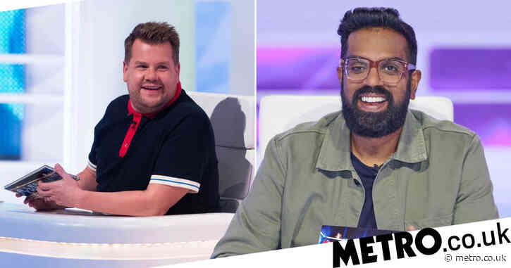 James Corden replaced by Romesh Ranganathan on A League Of Their Own