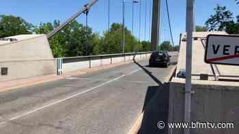 Métropole de Lyon: la circulation sur le pont de Vernaison passe à sens unique à partir de ce mercredi - BFMTV