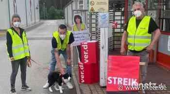 Warnstreik bei Stahlgruber in Sulzbach-Rosenberg - Onetz.de