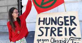 Klimaaktivistin im Hungerstreik stellt Lobau-Besetzung in Aussicht - KURIER