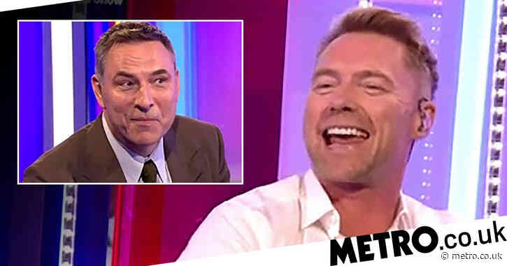David Walliams reveals Ronan Keating doesn't know what an adjective is in hilarious One Show segment