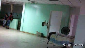 Familiares denuncian que hospital de Maturín tiene techos y paredes rotas - El Pitazo