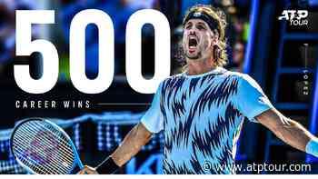 Feliciano Lopez Celebrates 500 Wins Milestone - ATP Tour